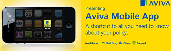 Aviva India Insurance unveils Mobile App - Customers get Instant Access, Anytime & Anywhere