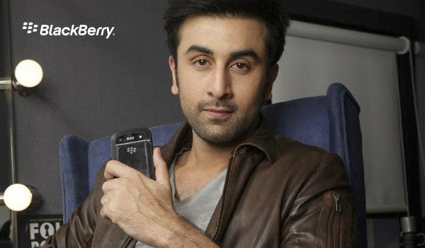 Ranbir Kapoor becomes BlackBerry's Brand Ambassador in India