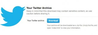 Twitter Archive Now available in Hindi and other Languages