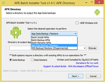 Backup and Restore Android Apps with Data and SMS directly from PC [How To]