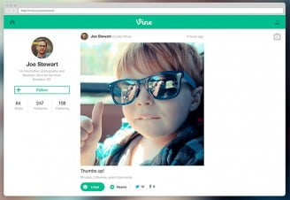 Vine makes its way to Web from Mobile with Profiles and TV Mode