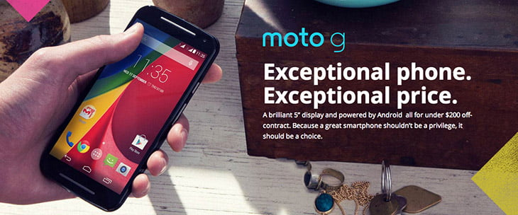 Motorola launched the second Generation Moto G in India for Rs 12,999
