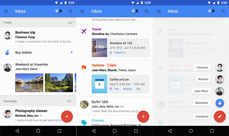 The Google Now for email – Inbox by Google