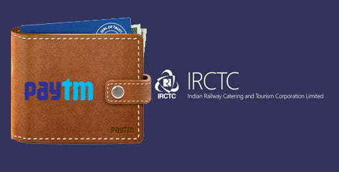 IRCTC adds Paytm Wallet on its Payment Gateway