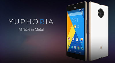 Yu Yuphoria launched with Premium build, Cyanogen OS, 4G LTE & Priced at Rs 6,999