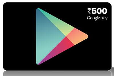 Google brings Play store Prepaid vouchers to India – available in Rs 500, Rs 1000 & Rs 1500
