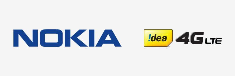 Nokia Bags 4G LTE Deployment For Idea Cellular In 3 Telecom Circles
