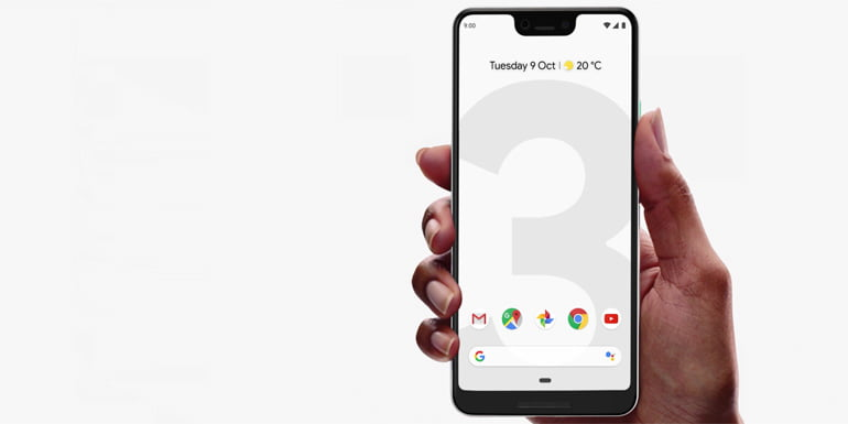 Google Pixel 3 and Pixel 3XL android smartphones